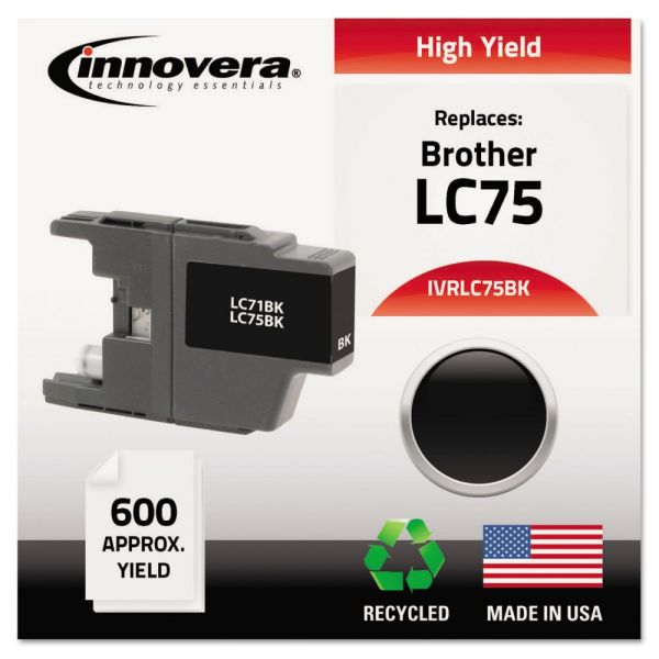 Innovera Remanufactured Brother LC75 High-Yield Ink Cartridge