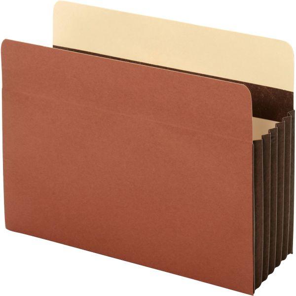 Pendaflex Heavy-Duty File Pockets, Straight, 1 Pocket, Letter, Redrope