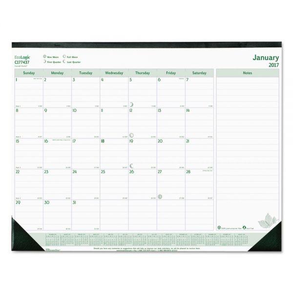 Rediform EcoLogix Monthly Desk Pad Calendar