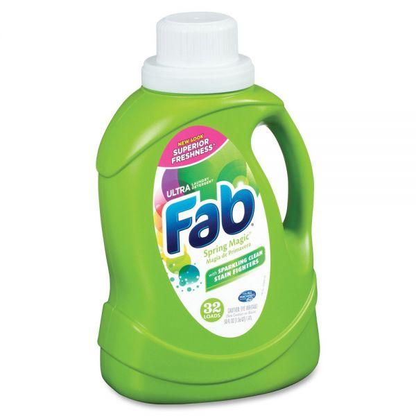 Fab Spring Magic Ultra Liquid Laundry Detergent