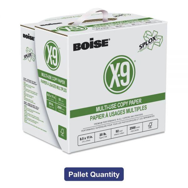 Boise X-9 SPLOX White Copy Paper