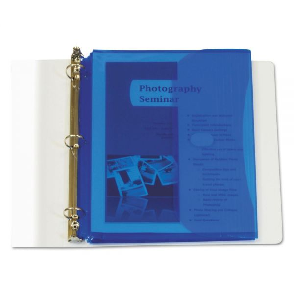 C-Line Poly Binder Pockets