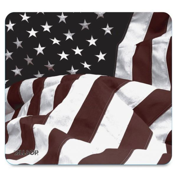 Allsop Nature Smart U.S. Flag Mouse Pad