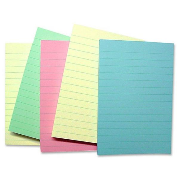 Sparco Ruled/Lined Adhesive Note Pads