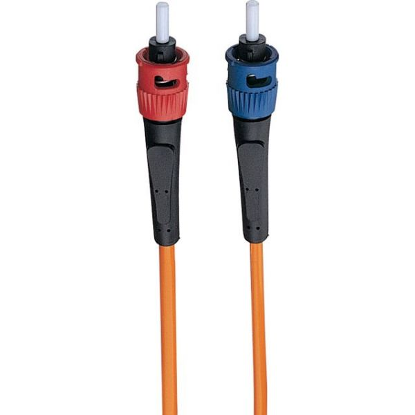 Tripp Lite 1M Duplex Multimode 62.5/125 Fiber Optic Patch Cable LC/ST 3' 3ft 1 Meter