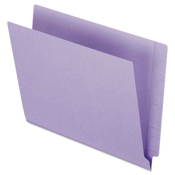Pendaflex Reinforced Letter Size End Tab File Folders