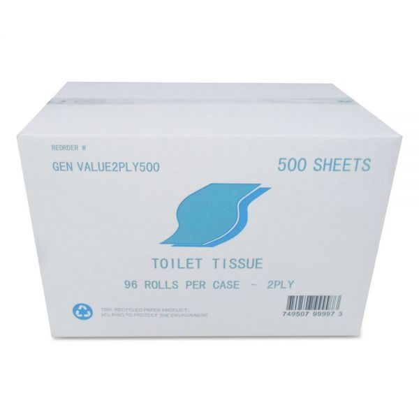GEN Small Roll 2 Ply Toilet Paper