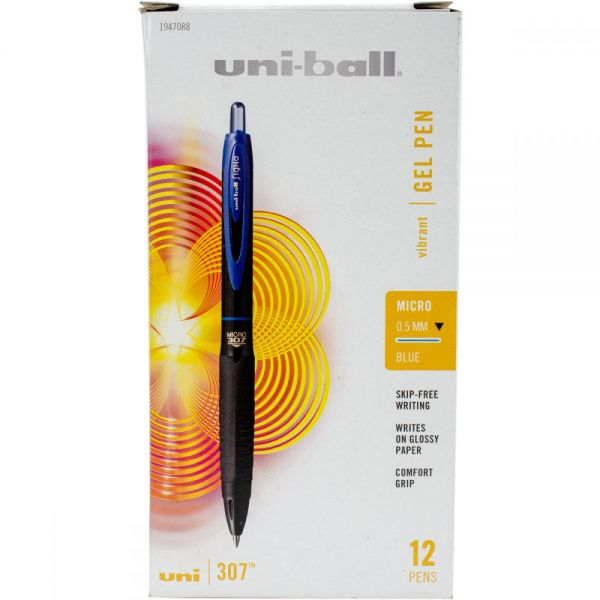 307 Retractable Gel Pen Open Stock