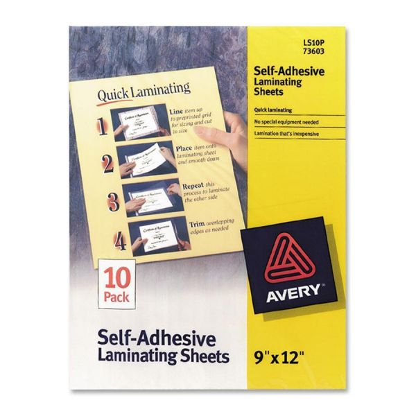 Avery Self-Adhesive Lamination