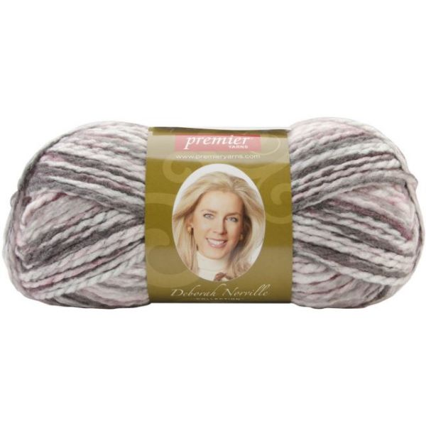Deborah Norville Collection Serenity Chunky Variegated Yarn