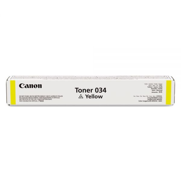 Canon 34 Yellow Toner Cartridge (9451B001)