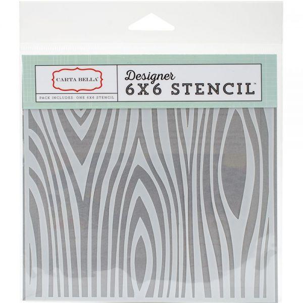"""Carta Bella Stencil 6""""X6"""""""