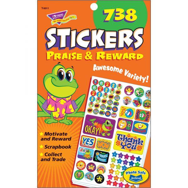 Trend Praise & Reward Sticker Pad