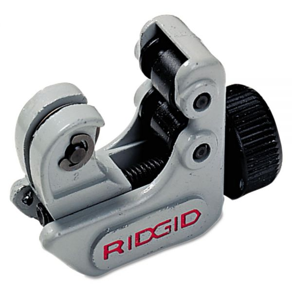 "RIDGID Model 103 Close Quarters Tubing Cutter, 1 1/2"" Tool Length, 1/8 5/8"" Cut Cap."