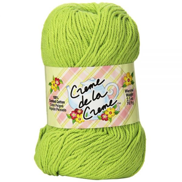 Creme de la Creme Yarn - Brite Green