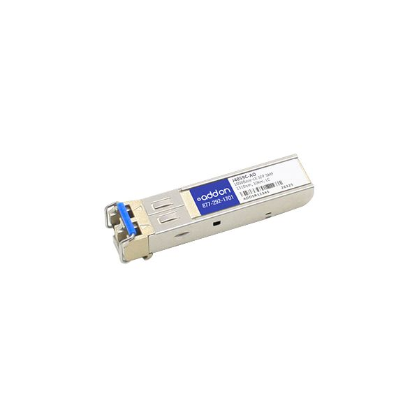 AddOn HP J4859C Compatible TAA Compliant 1000Base-LX SFP Transceiver (SMF, 1310nm, 10km, LC)