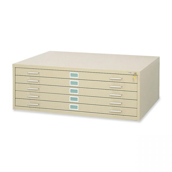 Safco 5-Drawer Steel Flat File