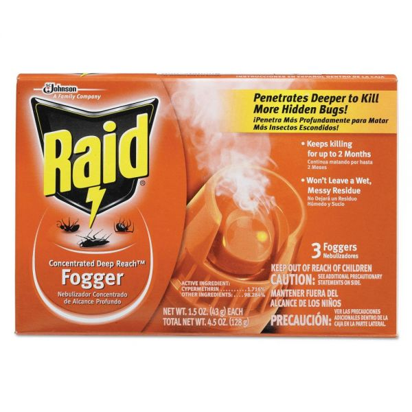 Raid Concentrated Deep Reach Foggers