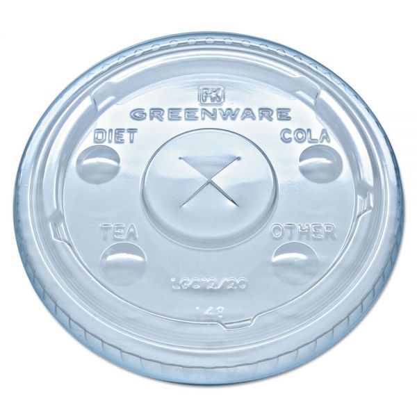 Fabri-Kal Kal-Clear/Nexclear Drink Cup Lids