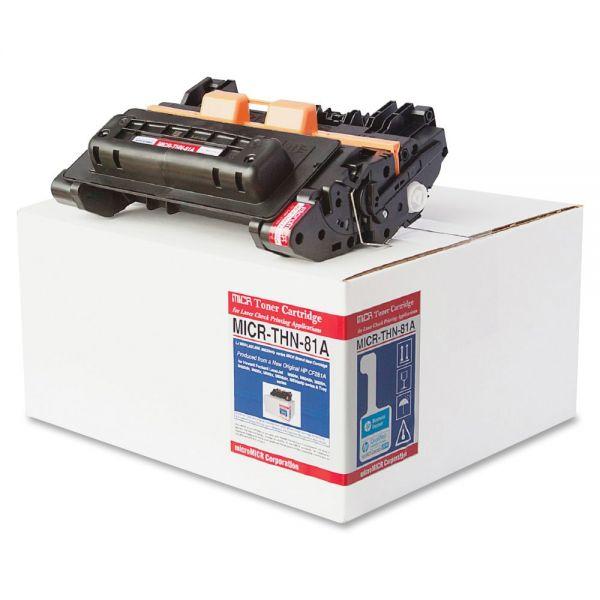 Micromicr Remanufactured HP 81A MICR Toner Cartridge