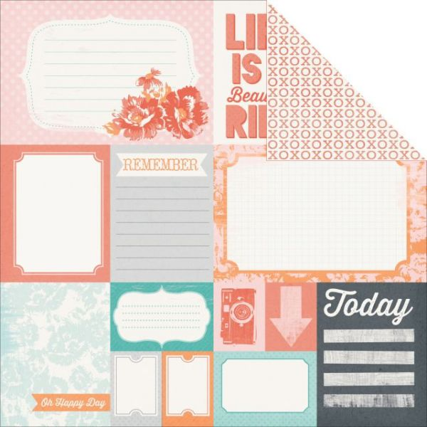 Dream Big Double-Sided Cardstock
