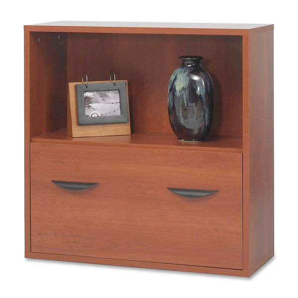 Safco Après File Drawer Cabinet With Shelf