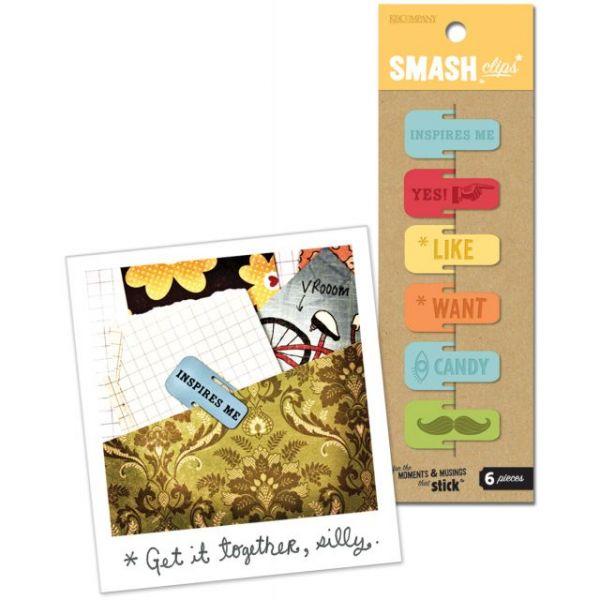 SMASH Clips 6/Pkg