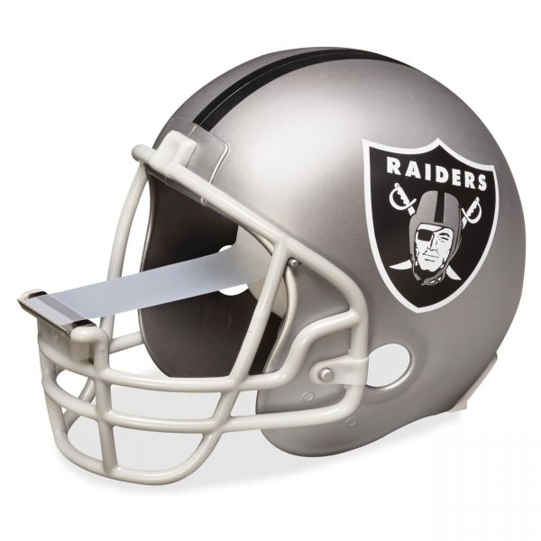 Scotch Oakland Raiders NFL Helmet Tape Dispenser