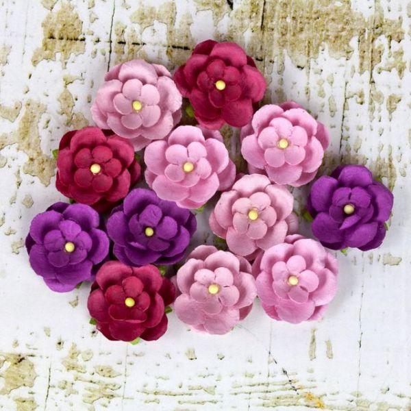 "Avante Paper Flowers 1"" 12/Pkg"
