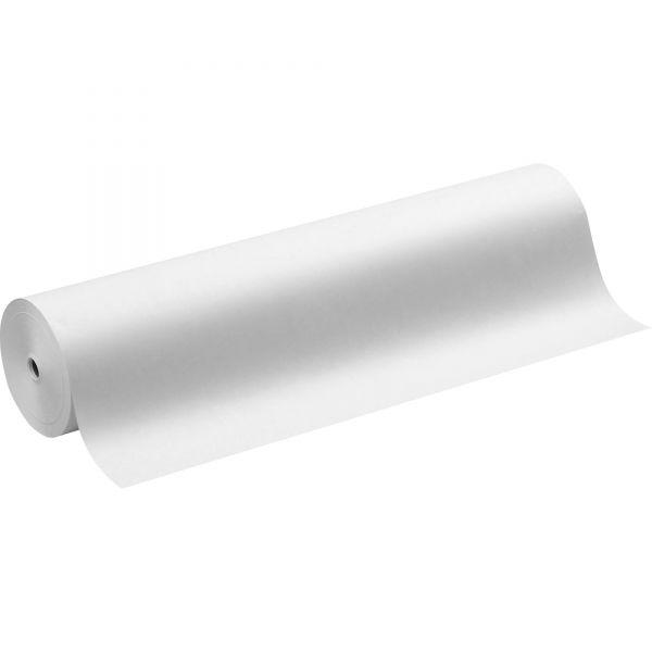 "Pacon Kraft Paper Roll, 40 lbs., 36"" x 1000 ft, White"
