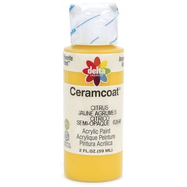 Ceramcoat Citrus Acrylic Paint