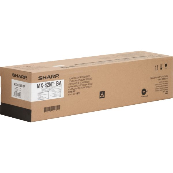 Sharp MX62NTBA High-Yield Black Toner Cartridge