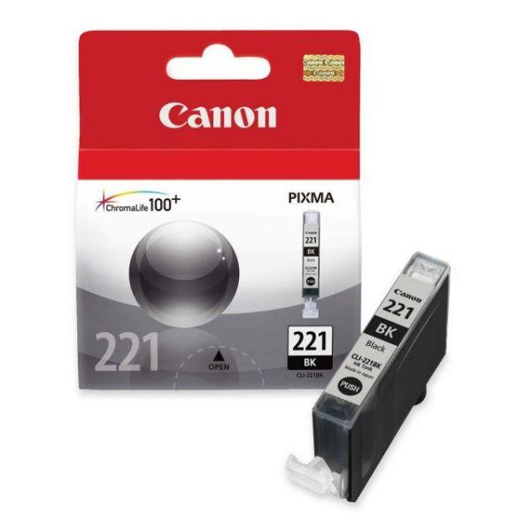 Canon CLI-221BK Black Ink Cartridge (2946B001)