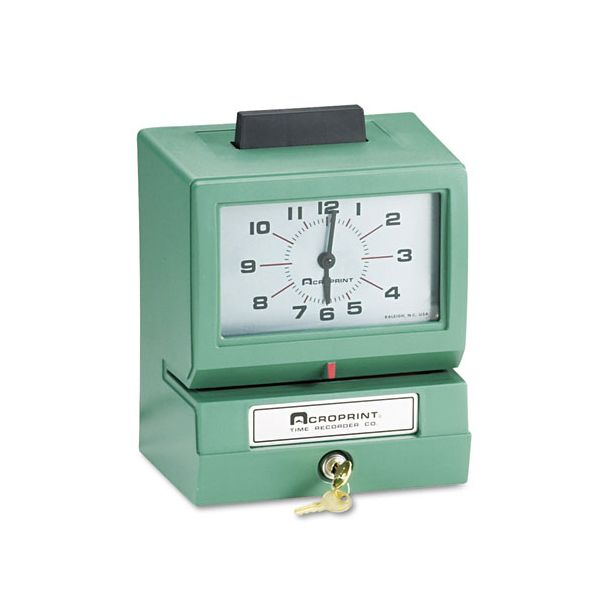 Acroprint 125RR4 Manual Time Recorder