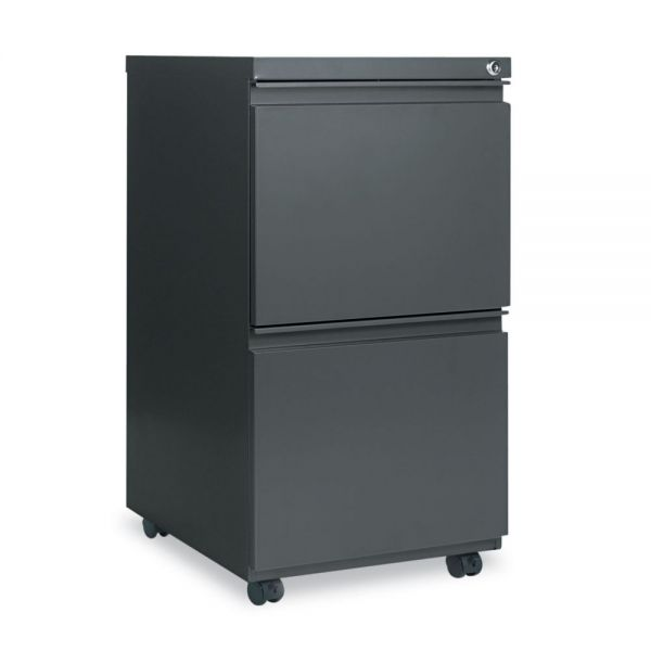 Alera 2-Drawer Mobile File Cabinet with Full-Length Pull