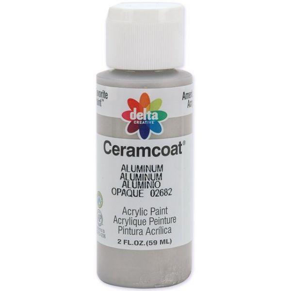 Ceramcoat Gleams Aluminum Acrylic Paint