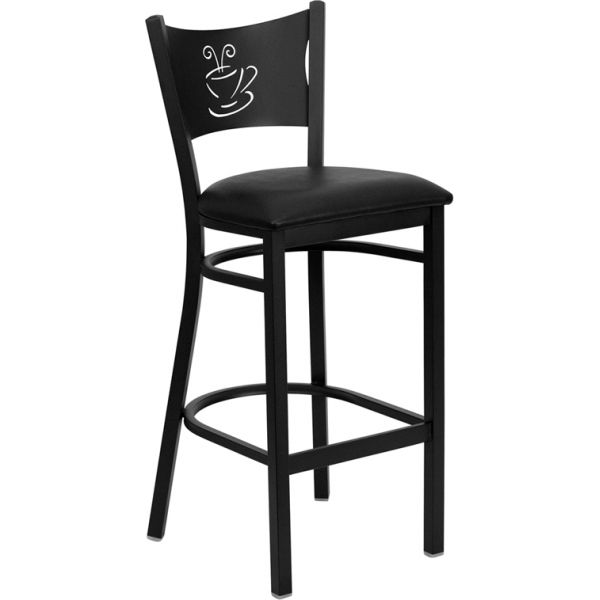 Flash Furniture HERCULES Series Coffee Back Metal Barstool