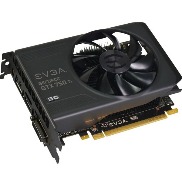 EVGA GeForce GTX 750 Ti Graphic Card - 1.18 GHz Core - 2 GB GDDR5 SDRAM - PCI Express 3.0 x16