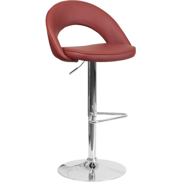 Flash Furniture Contemporary Rounded Back Barstool