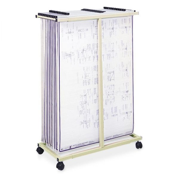 Safco Mobile Vertical File Cart