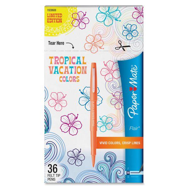 Paper Mate Flair Limited Edition Felt Tip Stick Pens