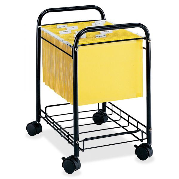 Safco Deskside Letter/Legal Mobile File Cart