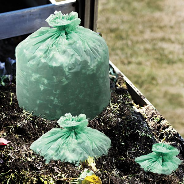 Stout Ecosafe Compostable 64 Gallon Trash Bags