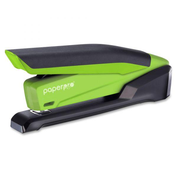 PaperPro inPOWER 20 Desktop Stapler, 20-Sheet Capacity, Green