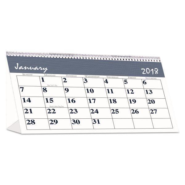 House of Doolittle Bar Harbor Monthly Desktop Tent Calendar