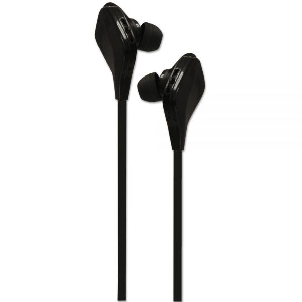 ByTech Bluetooth Sports Earbuds, Wireless, Black