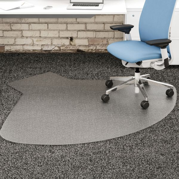 deflect-o SuperMat Medium Pile Beveled Chair Mat