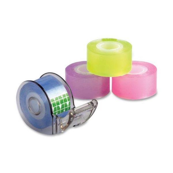 Baumgartens Mini Transparent Tapes & Dispenser