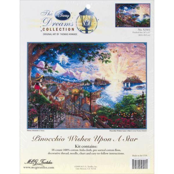 Disney Dreams Collection By Thomas Kinkade Snow White Cross Stitch Kit