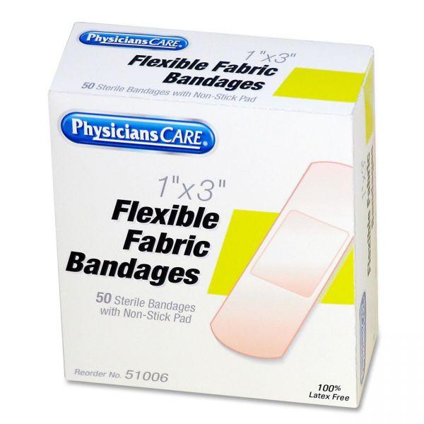 PhysiciansCare Flexible Fabric Adhesive Bandages